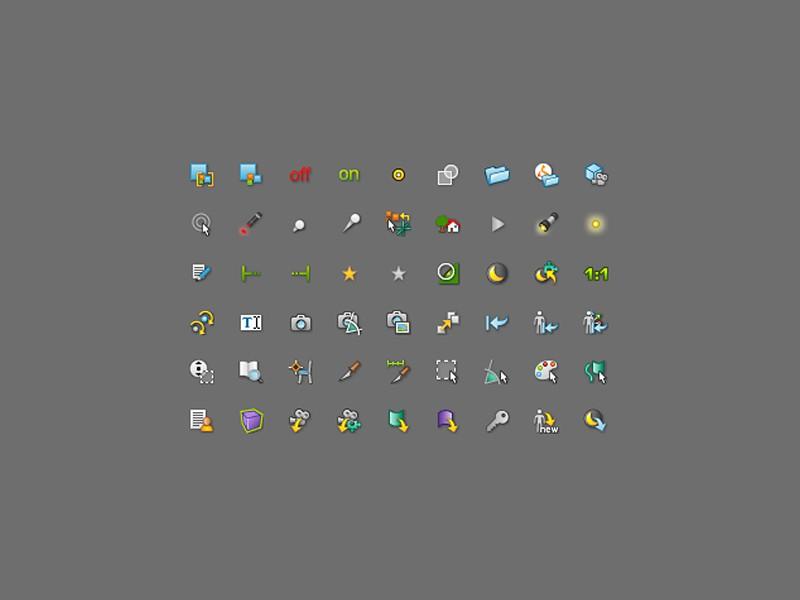 RTT DeltaGen Icons